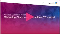 minimizing churn in a competitive OTT market