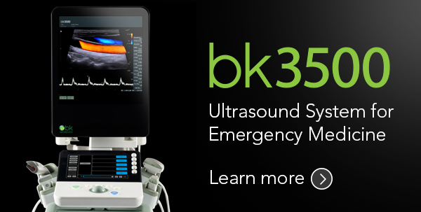 bk3500 Ultrasound System for Emergency Medicine