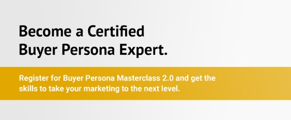 Buyer Persona Masterclass
