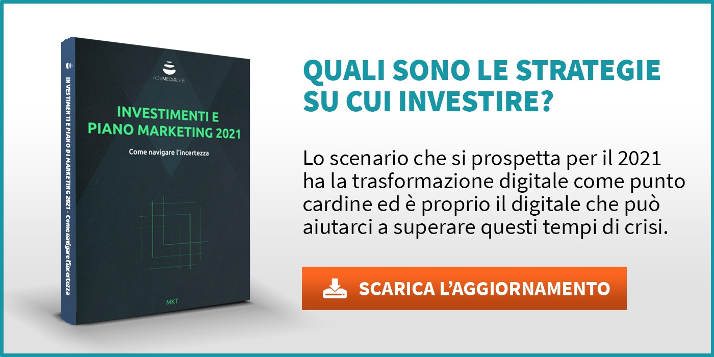 Investimenti e piano marketing 2021