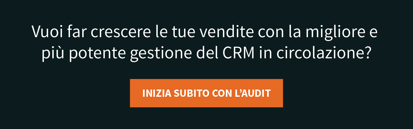 Strategia di gestione CRM performance