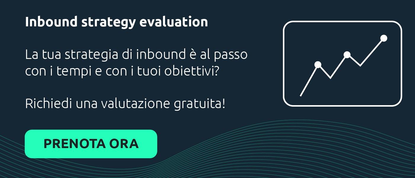 Valutazione strategia inbound marketing