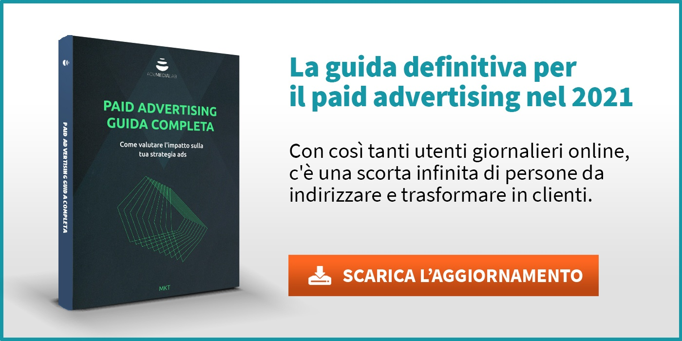 Paid advertising guida completa