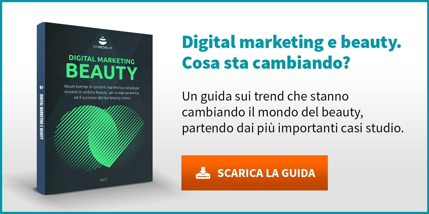 Digital marketing e beauty