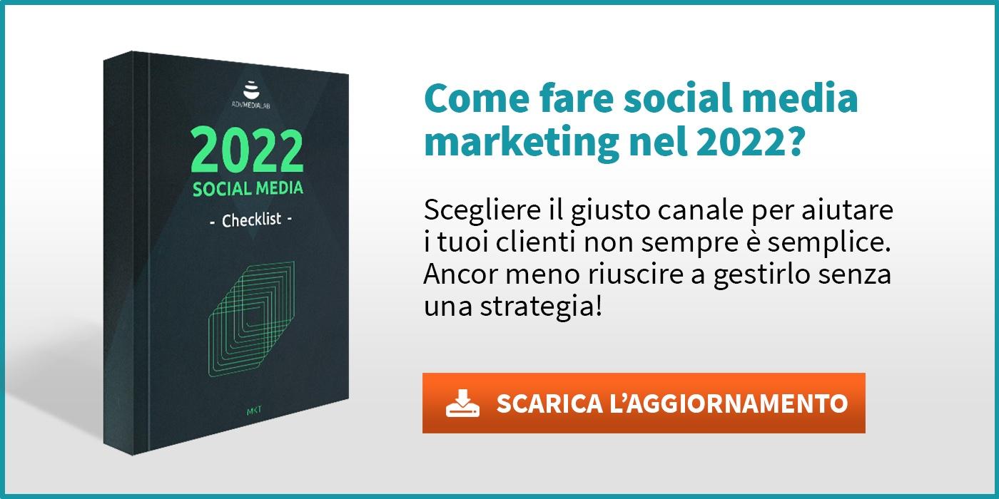 Social media checklist 2021