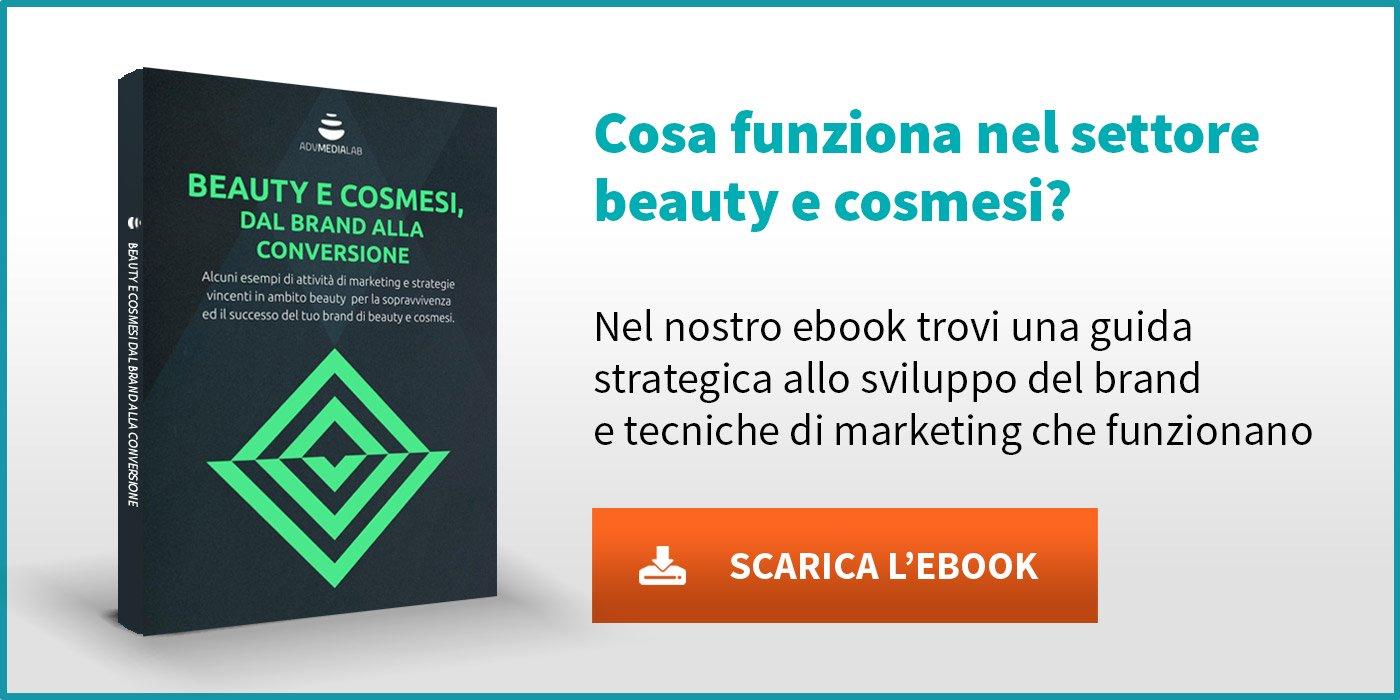 Beauty e Cosmesi dal brand alla conversione