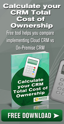 Calculate your CRM Total Cost of Ownership
