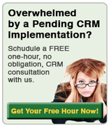 Overwhelmed by a CRM Implementation?