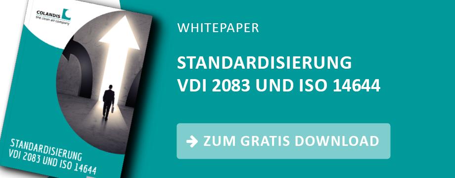 Standardisierung VDI 2083 und ISO 14644