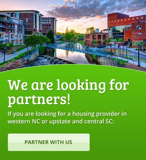 Temporary housing Upstate SC Western NC