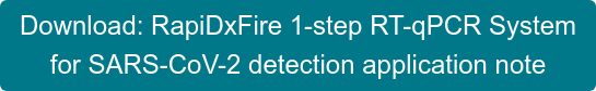 Download: RapiDxFire 1-step RT-qPCR System  for SARS-CoV-2 detection application note