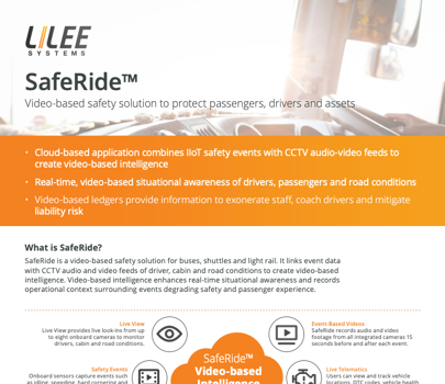 SafeRide datasheet