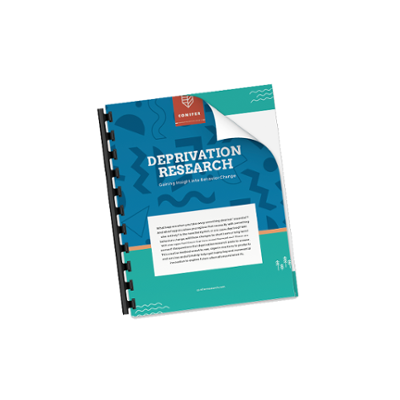 Download Conifer's Deprivation Research guide for FREE today!