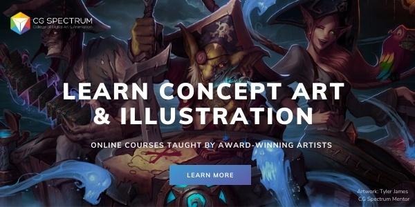 learn concept art and illustration