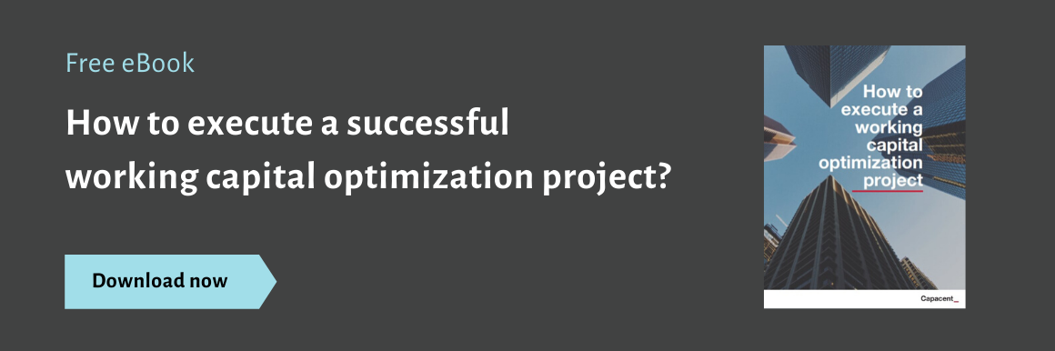 How to execute a working capital optimization project