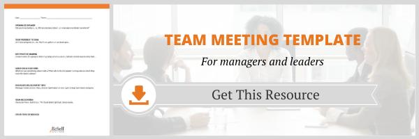 Team Meeting Template