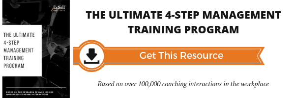 4-step management training program