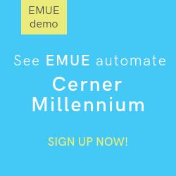 Emue for cerner millennium demo request