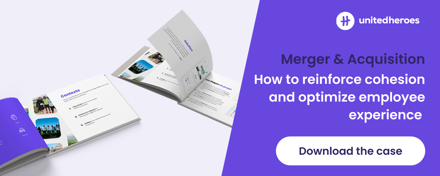 Merger and acquistion: how to reinforce cohesion and optimize employee experience