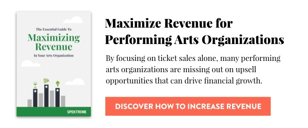 Maximize Revenue for Performing Arts Organizations