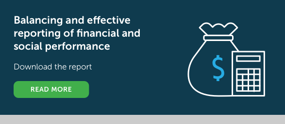 Balancing and effective reporting of financial and social performance  Download the report Read more