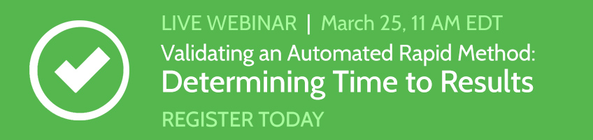 Validating an Automated Method - March Webinar