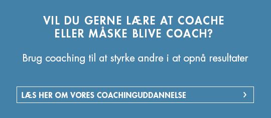 Coaching-uddannelse
