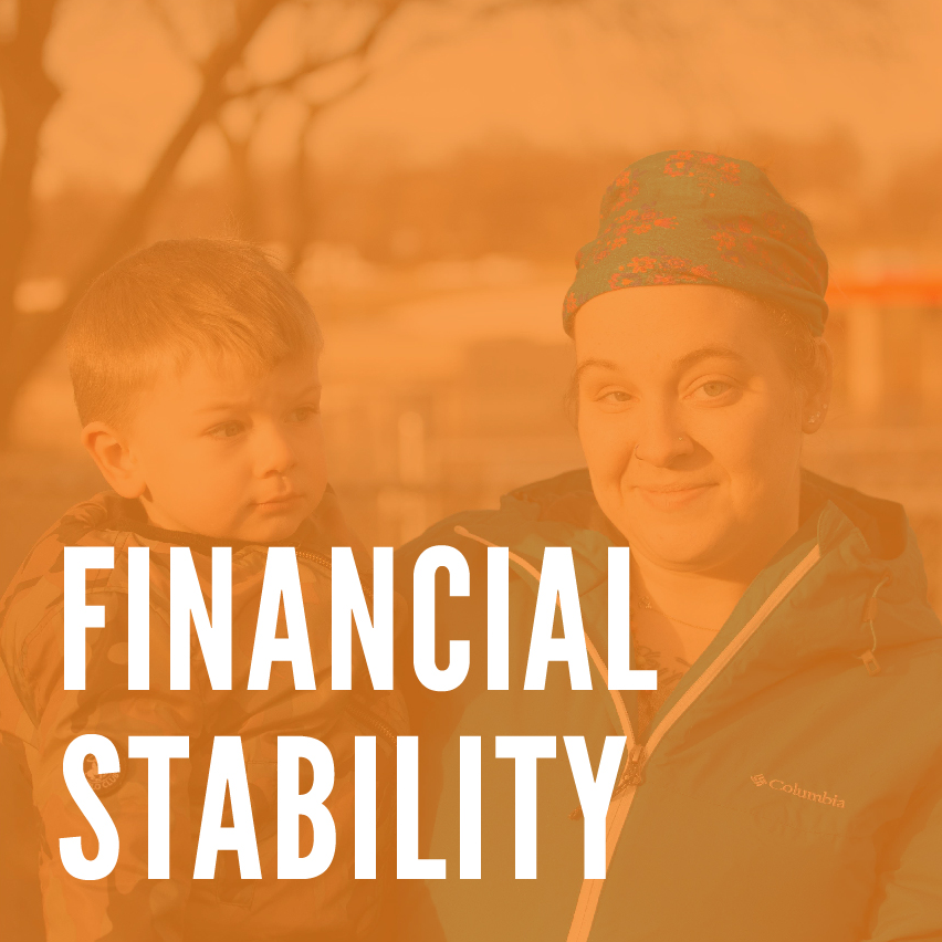 I want to remove barriers so more families can be financially stable.