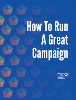 How To Run A Great United Way Campaign