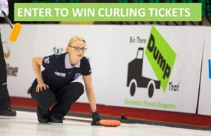 Grand Slam of Curling Bin There Dump That ticket giveaway