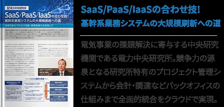 SaaS/PaaS/IaaS の合わせ技!基幹系業務システムの大規模刷新への道