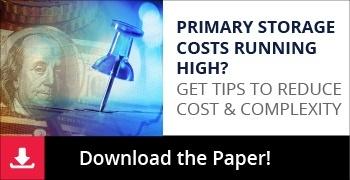 primary storage costs