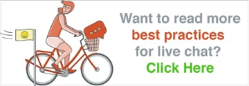Read more live chat best practices from Olark Live Chat