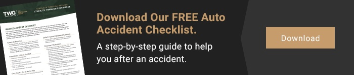 Vehicle Accident Checklist Call to action