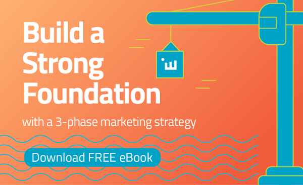 Build a Strong Foundation with a 3-phase marketing strategy eBook download