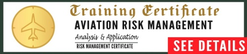 See course syllabus for Certified Aviation Risk Management Training