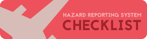 Download hazard reporting system checklist for aviation SMS