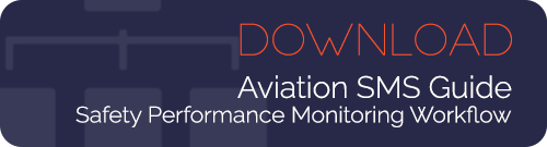 Safety performance monitoring workflow for aviation SMS programs