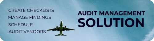 Aviation Audit Management Solution