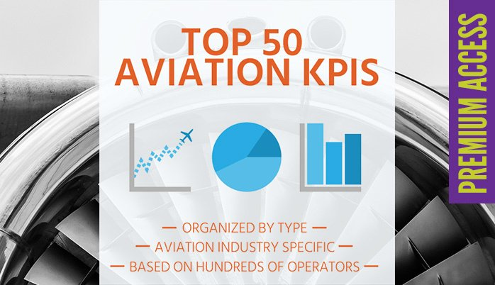 Download 50 top aviation key performance indicators - premium access only