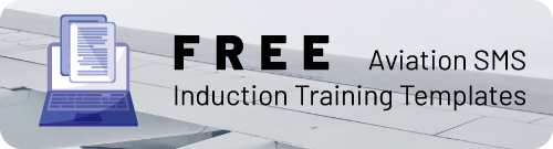 Aviation SMS Induction Training Templates
