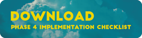 Aviation SMS Phase 4 Implementation Checklist