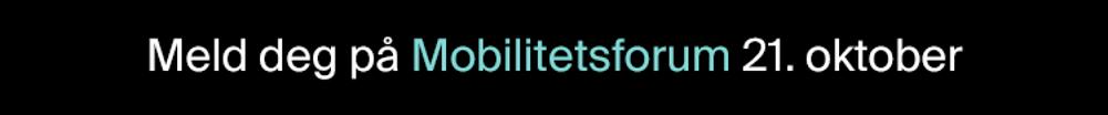 Meld deg på Mobilitetsforum 2021