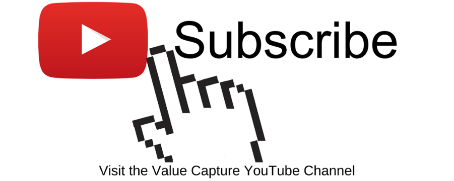 Subscribe to the Value Capture YouTube Channel
