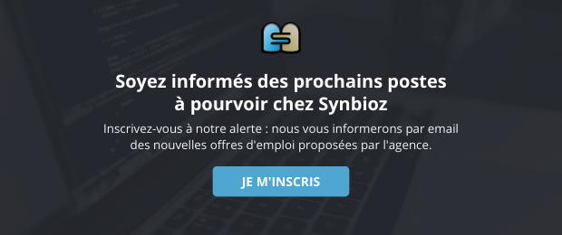 Recevoir les offres d'emploi de Synbioz par email