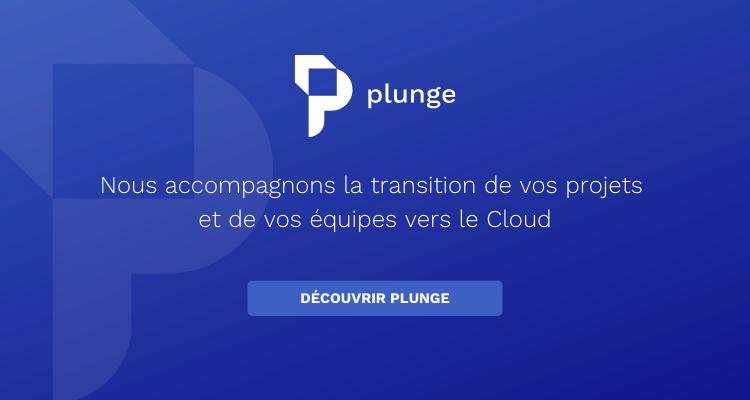 Plunge, votre partenaire Devops et Cloud