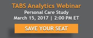 TABS Analytics Personal Care Study Webinar