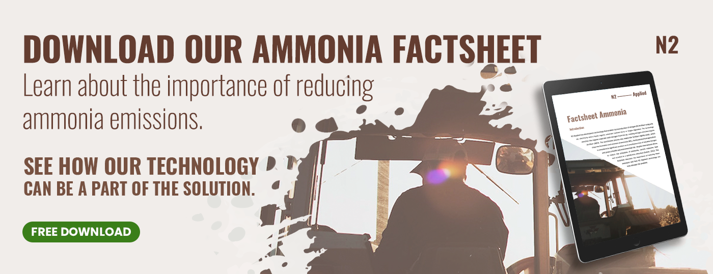 Banner: Download our ammonia factsheet