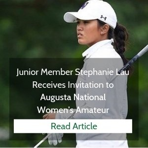 Hacienda Member Receives Invite to Augusta National Women's Amateur