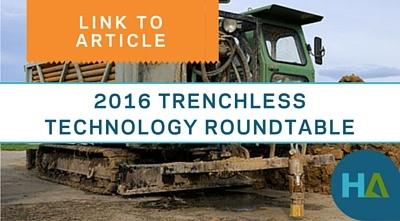 2016 Trenchless Technology Roundtable